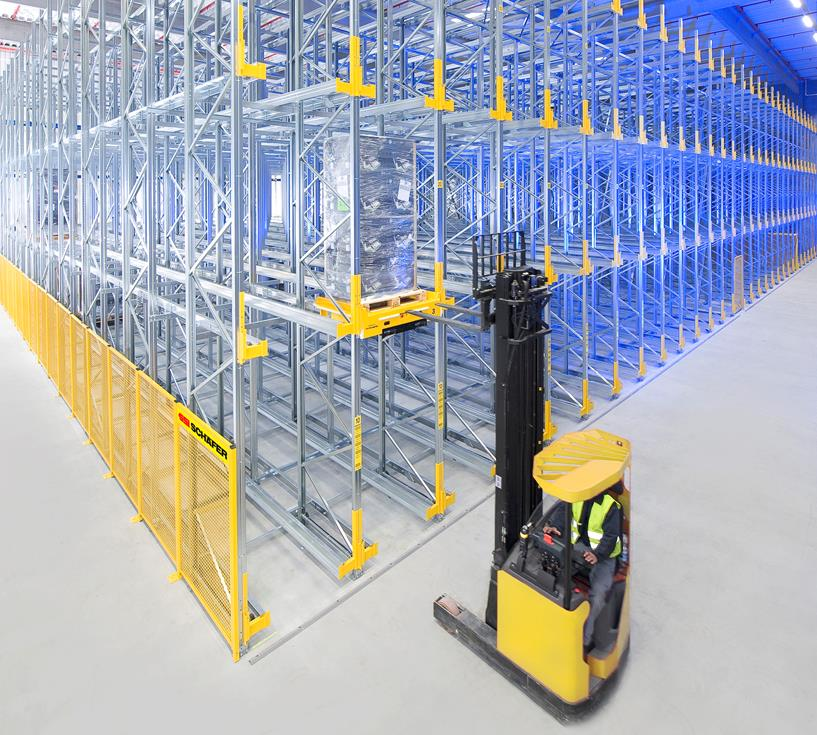 Ci Group Warehouse Storage Rack Pallet Rack