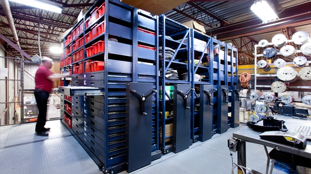 Ci Group Products High Density Mobile Shelving